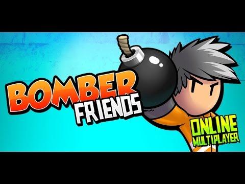 Обзор игры Bomber Friends - Весёлый экшен - на андроид (Обзор/Review)