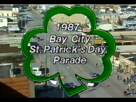 1987 St. Patrick's Day Parade • Bay City, Michigan!