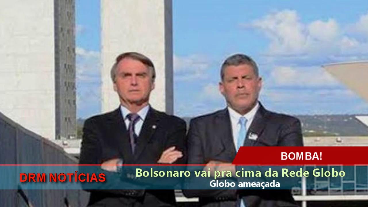 Bolsonaro e Frota vão pra cima da Globo! Será o fim do império dos Marinhos?