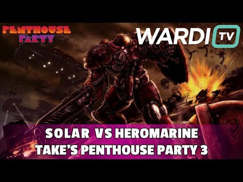 Solar vs HeroMarine (ZvT) - Take's Penthouse Party #3 ($4k+)