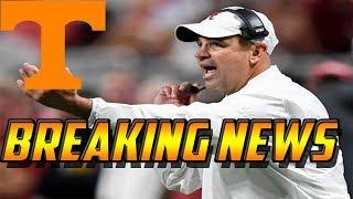 Breaking News: Vols New Head Coach Jeremy Pruitt