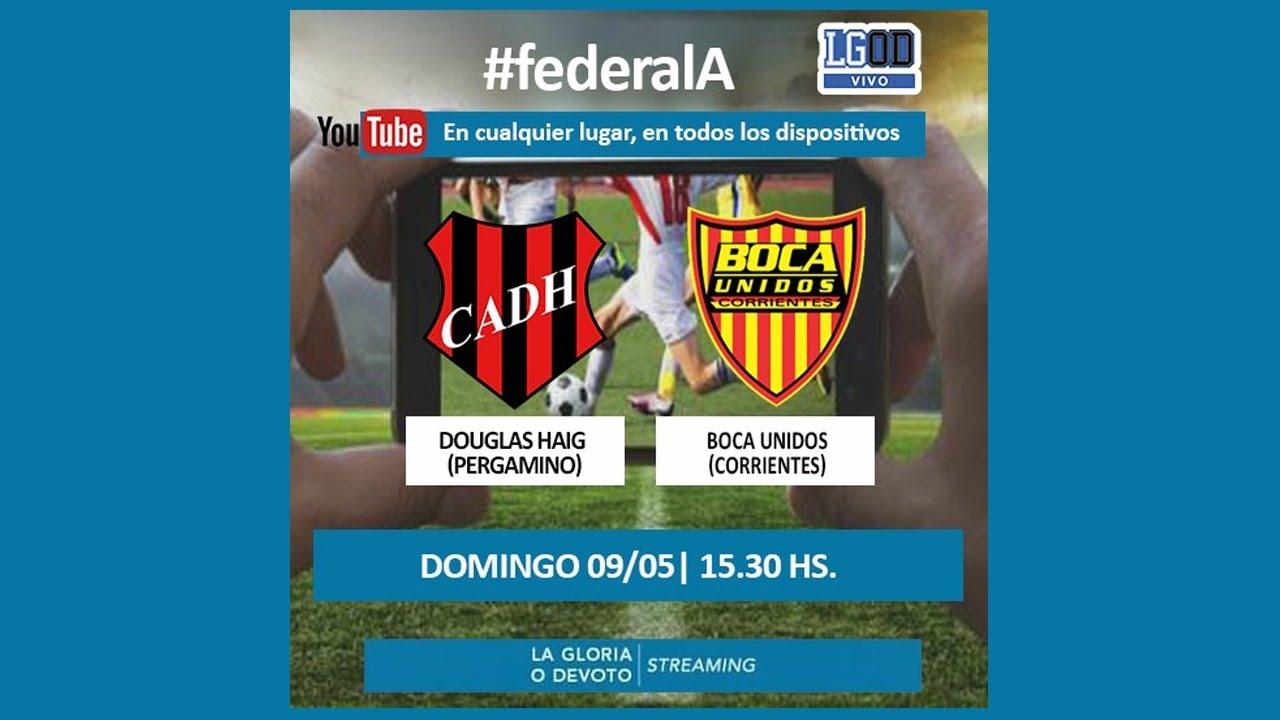 Douglas Haig (Pergamino) vs Boca Unidos (Corrientes) | Torneo Federal A | Zona Norte - Fecha 5