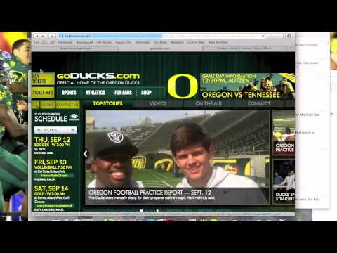 How to claim an Oregon Football student ticket