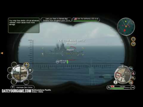 Battlestations Pacific Walkthrough 14 Invasion of Hawaii Gameplay