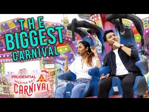 Prudential Marina Bay Carnival: The Biggest Carnival in Singapore (2019)