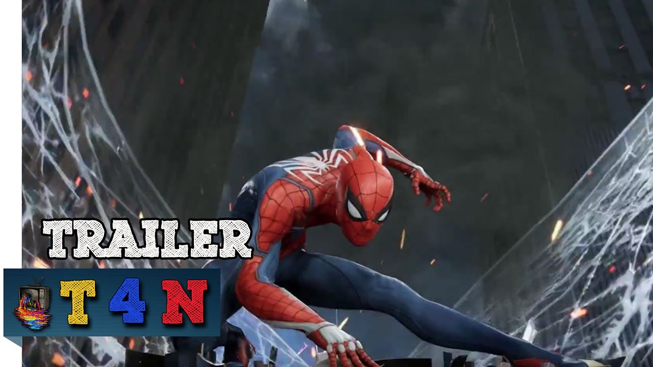 Marvel's Spider Man PS4 2017 E3 Gameplay - YouTube