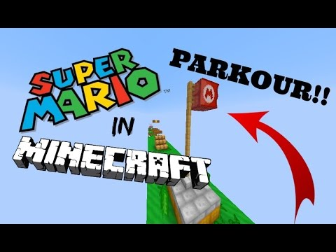 MARIO IN MINECRAFT?? AWESOME PARKOUR/OBSTACLE COURSE MAP W/ Nikanation