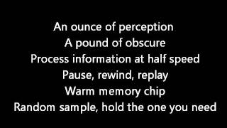 Rush-Vital Signs (Lyrics)