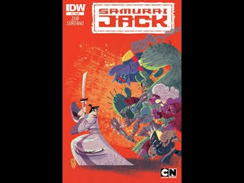 Samurai Jack Comic Book #1 Voice Over