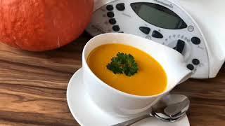 Очень вкусный Тыквенный суп пюре в термомикс