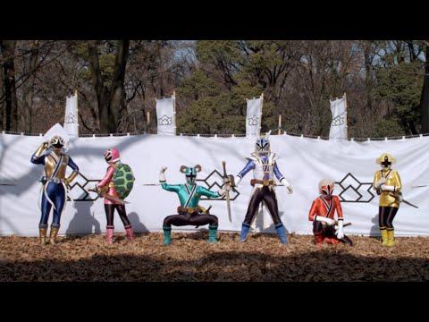 samurai rangers in costume youtube. Black Bedroom Furniture Sets. Home Design Ideas