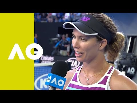 Danielle Collins on-court interview (QF) | Australian Open 2019
