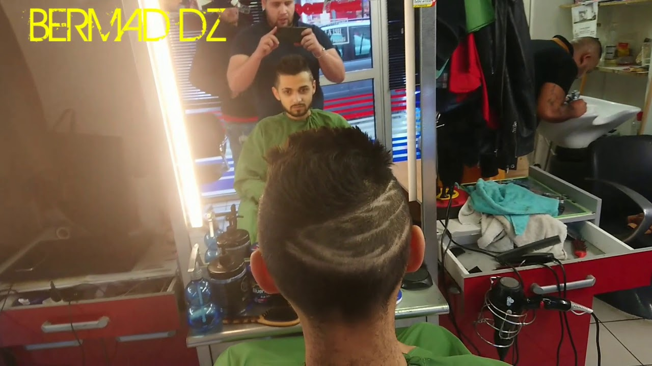 Coiffure Homme Degrade Plume Youtube