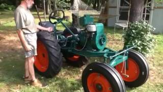Shaw R7 Duall tractor Cold Start