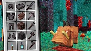 Minecraft 1.16: NOVO MINÉRIO MELHOR QUE DIAMANTE! NOVA ARMADURA, NOVAS FERRAMENTAS E NOVO BIOMA!