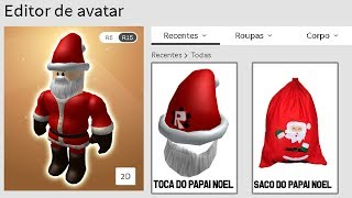 HOW TO TURN SANTA CLAUS on ROBLOX (EASY) AVATAR ROBLOX