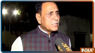 I don't agree with the Exit Poll results, will win more seats: Vijay Rupani