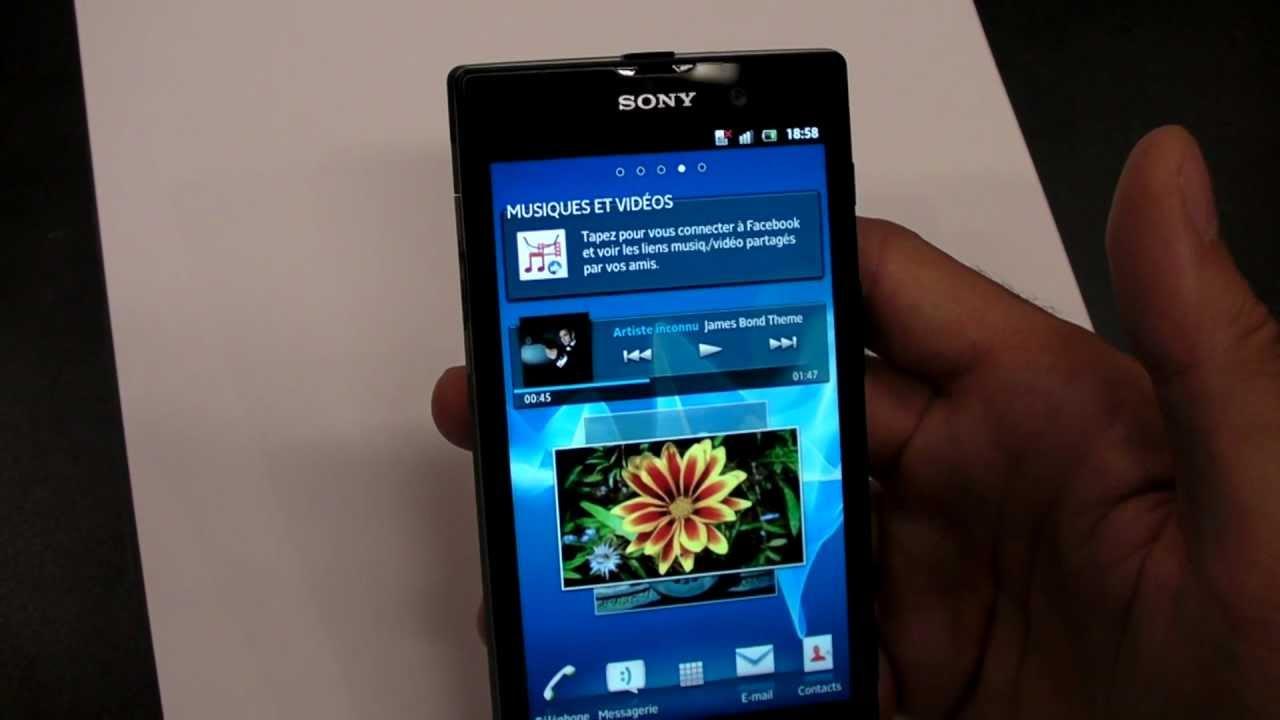 Sony Xperia Ion, un smartphone android avec grand écran ...