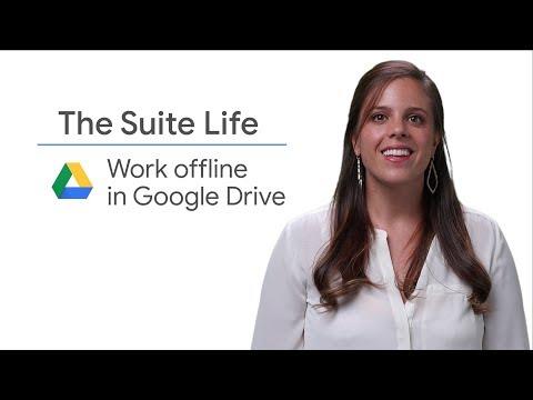 Work offline in Google Drive - The Suite Life