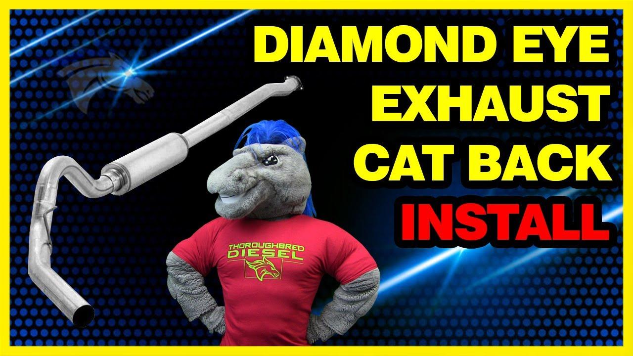 Diamond Eye In Cat Back Exhaust