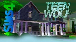 TEEN WOLF - Строим в The Sims 4 комнату Скотта из сериала Волчонок
