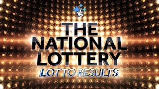 Lotto Results from Saturday 14th July 2018