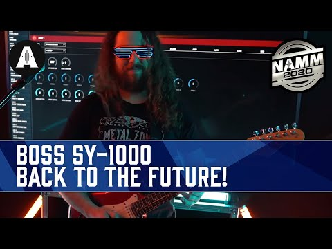 The Greatest Product Demo In History! - New BOSS SY-1000 Synth Guitar Pedal! - NAMM 2020