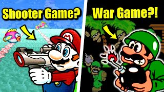 How Many Video Game Genres Did Mario Appear in?