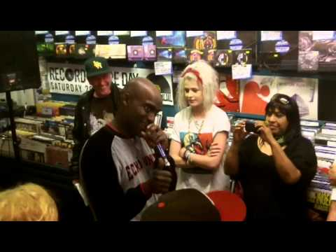 Rodney P instore for London Posse - Gangster Chronicles release - Banquet Records