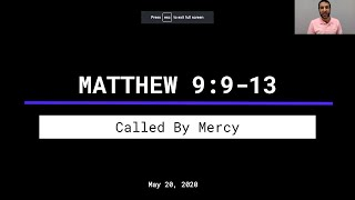 Called By Mercy (Matt. 9:9-13) | Nick Russo