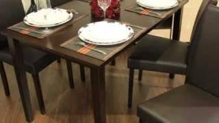 Презентация обеденного комплекта Сюзан стол + 4 стула(Главные черты: Размер Стола: 120*75 см, высота 74 см Размер Стула: 40*44 см, высота 92 см Отличный комплект, как для..., 2011-01-25T07:41:00.000Z)