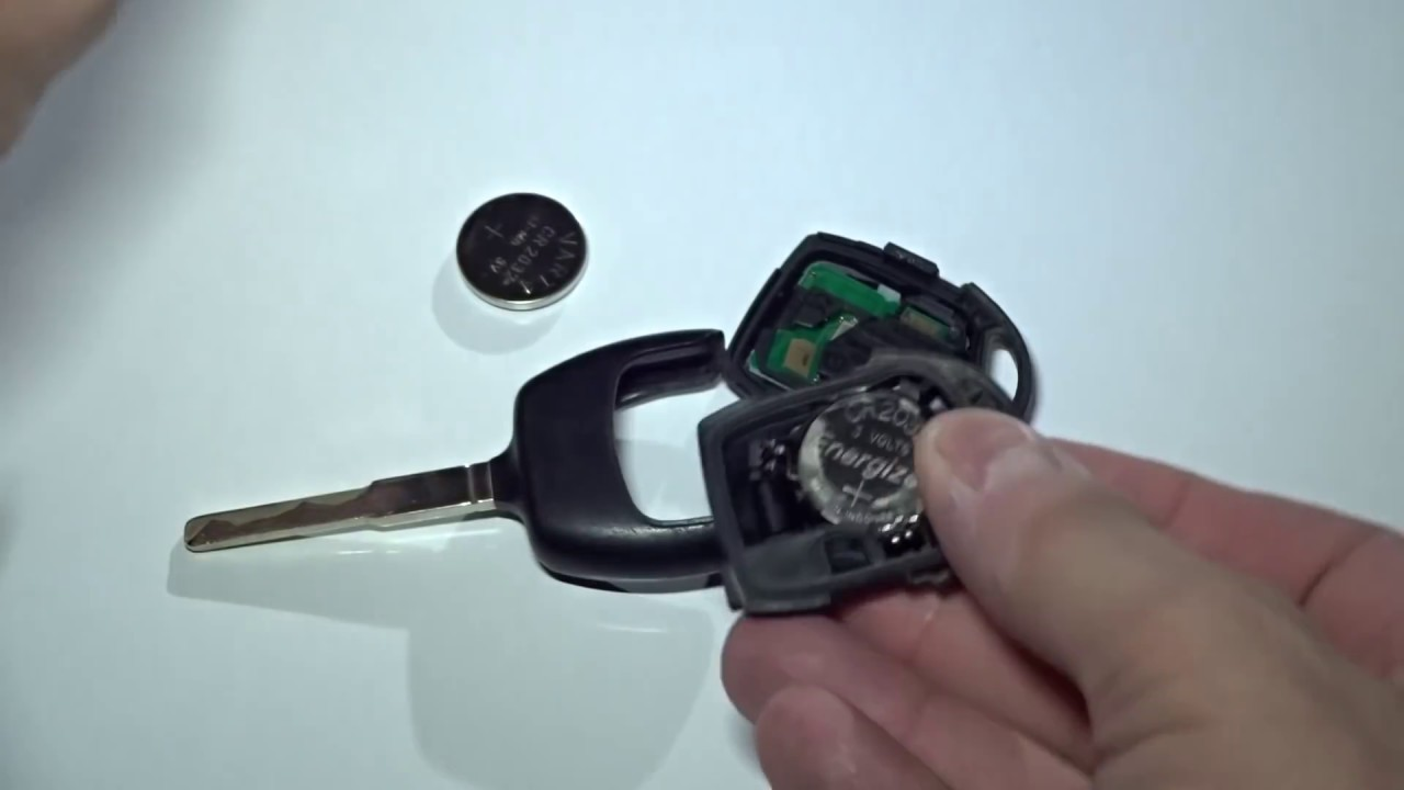 Key Fob Battery Replacement >> Ford Schlüssel Batterie tauschen, Funkschlüssel - YouTube