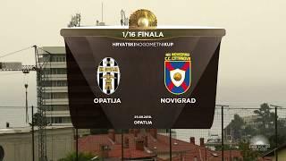 OPATIJA vs NOVIGRAD 3:1 (šesnaestina finala, Hrvatski nogometni kup 19/20)