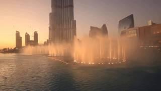 WORLDS BEST WATER FOUNTAIN SHOW! The Dubai Fountain