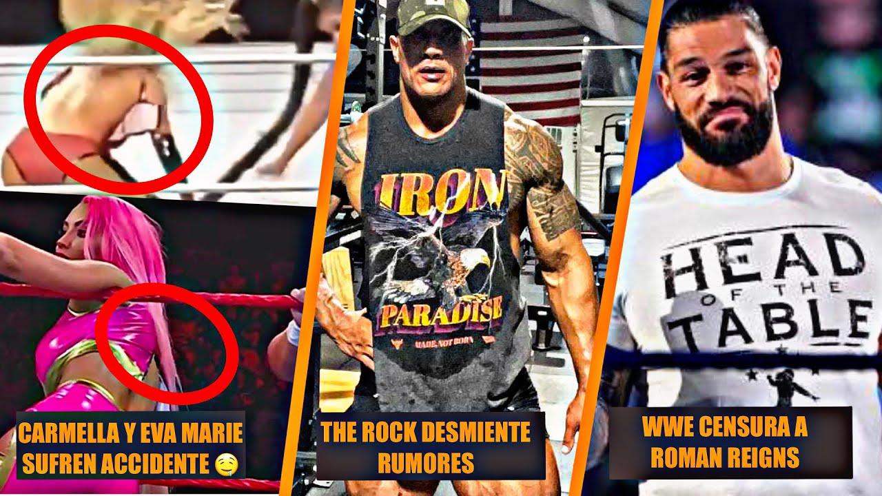 Carmella y Eva Marie Enseñan de Mas🔥 , The Rock Desmiente Rumores, Roman Reigns Censurado por WWE