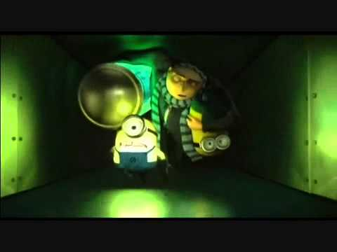 Despicable Me Glow Stick! - YouTube
