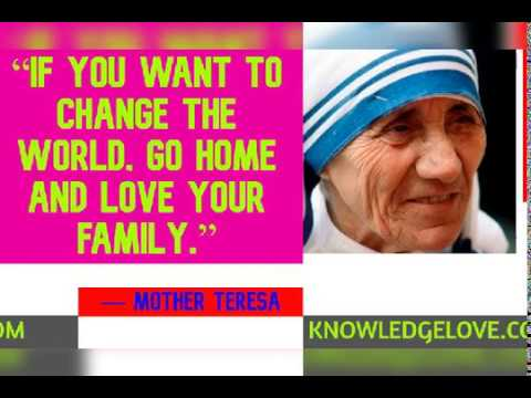 Mother Teresa Quotes to get Inspiration in Life