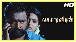 Kodi Veeran Tamil Movie Scenes | Sasikumar and Mahima followed | Pasupathy warns Sasikumar
