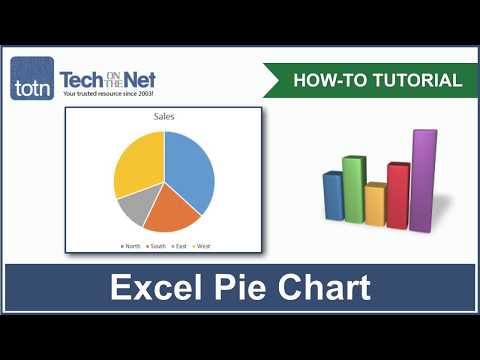 MS Excel 2016: How to Create a Pie Chart
