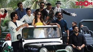 Total Dhamaal Trailer Launch Event   Ajay Devgn, Anil Kapoor, Madhuri Dixit, Arshad   Bolly Quickie