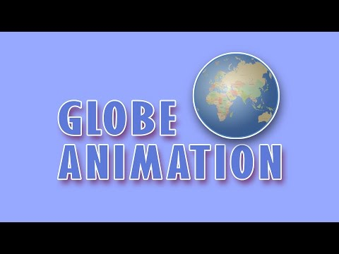 Flash Animation Tutorial - 3D Animated Globe