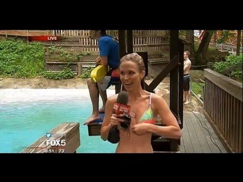 News Anchor Greg Kelly Shamelessly Ogles Bikini-clad Fellow Reporter On Air
