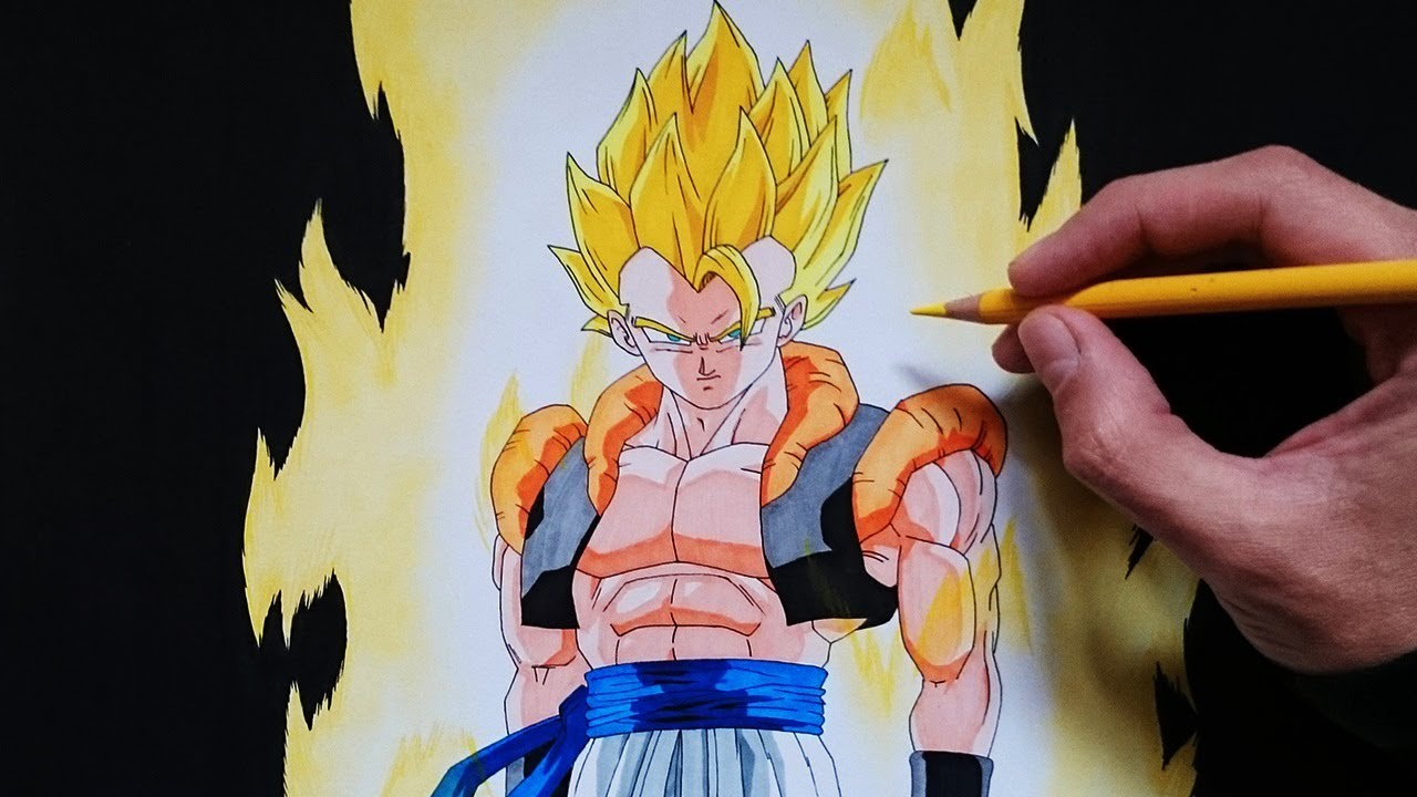 Como Dibujar A Gogeta Ssj Explicado Paso A Paso How To Draw Gogeta Ssj Youtube