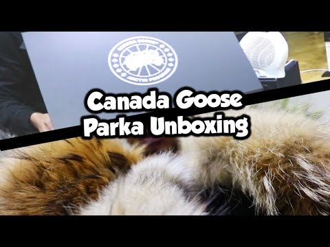 CANADA GOOSE NEW SEASON PARKA UNBOXING + REVIEW 2018 VLOG!
