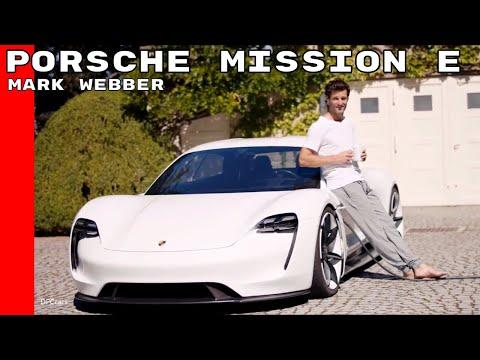 Porsche Mission E With Mark Webber