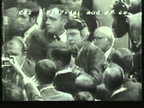 Dan Rather Convention Floor Fight 1968 ElectionWallDotOrg.flv