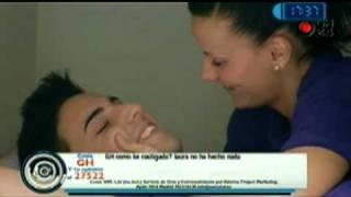 GH12 Marcelo a Laura: ''Estas castigada'' 30/01/2011