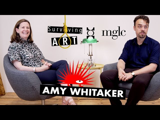 Interview with Amy Whitaker -- About the art market, art economy and the business side of art