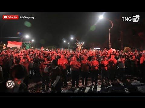 Nonton Bareng Indonesia VS Malaysia Di Taman Electric Kota Tangerang [Tangerang TV]