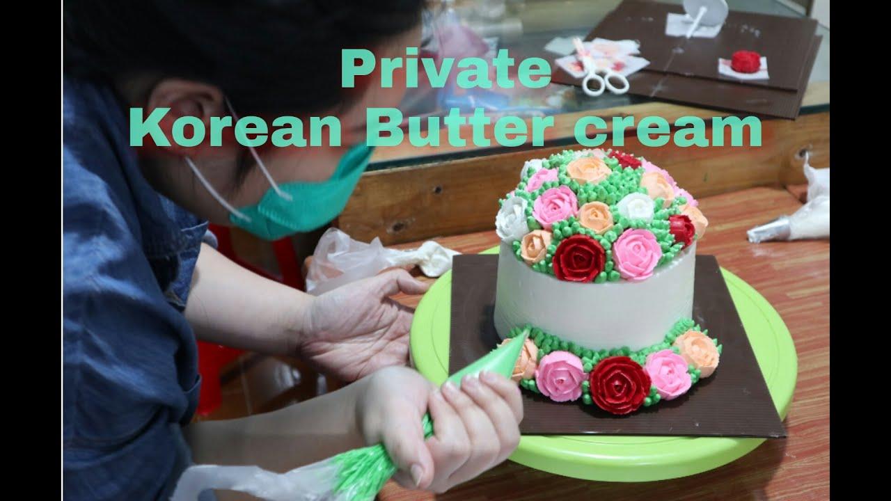 Private korean butter cream